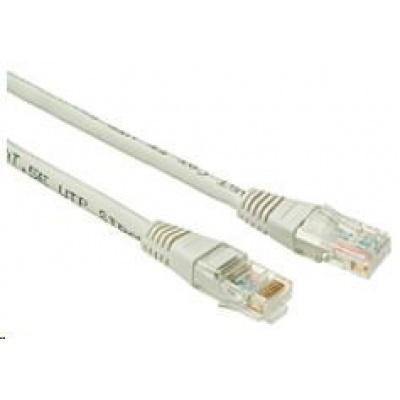 Solarix Patch kabel CAT6 UTP PVC 5m šedý non-snag-proof C6-155GY-5MB