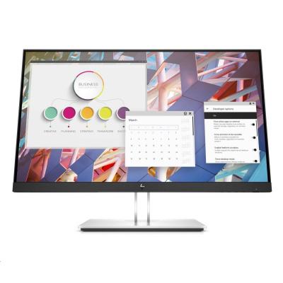 "HP LCD E24 G4 23.8"" 1920x1080, IPS w/LED micro-edge, jas 250 cd/m2, 1000:1, 5 ms g/g, VGA, DP 1.2, HDMI 1.4, USB3.2"