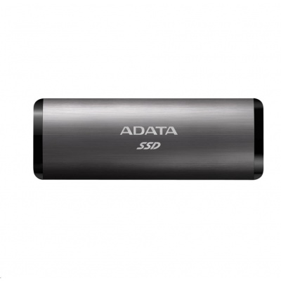 ADATA External SSD 256GB SE760 USB 3.2 Gen2 type C Titanová šeď