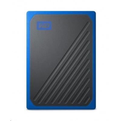 SanDisk WD My Passport Go externí SSD 2TB My Passport Go, USB 3.0 modrá