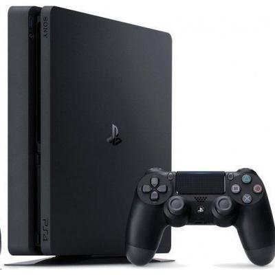 SONY PlayStation 4 1TB F Chasis (slim) - černý + Crash Team Racing + DS4