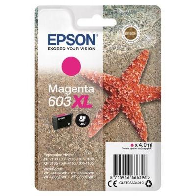 """EPSON ink bar Singlepack """"Hvězdice"""" Magenta 603XL Ink"""