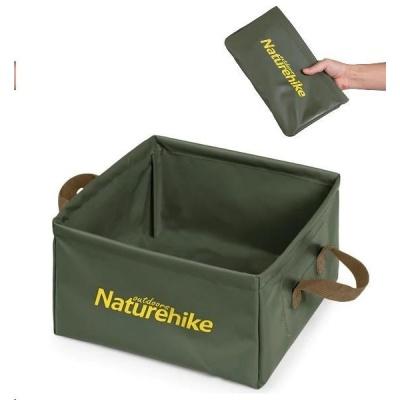 Naturehike skládací nádoba pro skladování/mytí 13l 250g - zelená