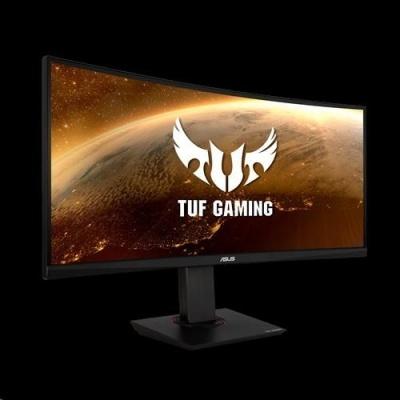 "ASUS LCD 35"" VG35VQ 3440x1440 ROG TUF Curved Gaming VA 100Hz 1ms MPRT DP HDMI USB3.0 Adaptive-sync ELMB HDR10"