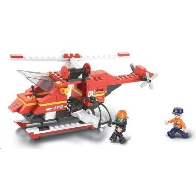 Sluban B-0218 Záchranná helikoptéra 155 dílků