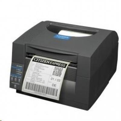 Citizen CL-S521II, 8 dots/mm (203 dpi), EPL, ZPL, Datamax, Dual-IF, white