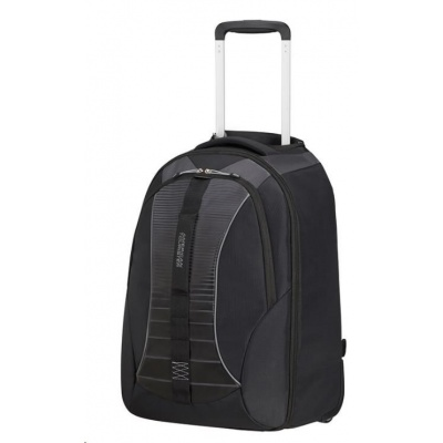 "American Tourister Fast Route LAPT. BP/WH. 15.6"" SPORTY Black/Grey"