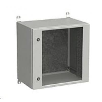 Solarix rozvaděč nástěnný venkovní LC-20 12U 600x500mm, dveře sklo, LC-20-12U-65-11-G