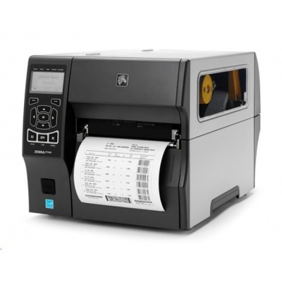 Zebra ZT420, 8 dots/mm (203 dpi), řezačka, RTC, display, EPL, ZPL, ZPLII, USB, RS232, BT, Ethernet