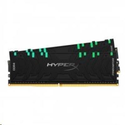 DIMM DDR4 16GB 4000MHz CL19 (Kit of 2) KINGSTON XMP HyperX Predator RGB Black