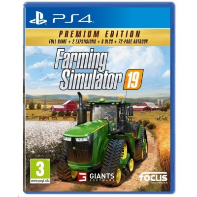 PS4 hra Farming Simulator 19 CZ (Premium Edition)