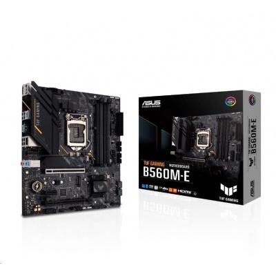 ASUS MB Sc LGA1200 TUF GAMING B560M-E, Intel B560, 4xDDR4, 1xDP, 1xHDMI, mATX