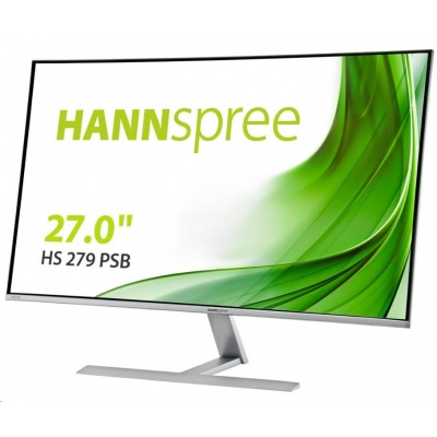 "Hannspree HS279PSB 27"" LCD monitor, full HD 1920x1080, 16:9, 5ms, HDMI, DP, VGA"
