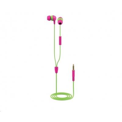 TRUST sluchátka Buddi Kids In-Ear Headphones - pink