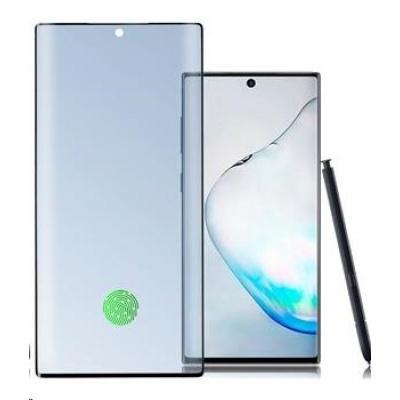 4smarts tvrzené sklo UltraSonix pro Samsung Galaxy Note 10, černá