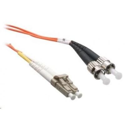 Duplexní patch kabel MM 62,5/125 OM1, LC-ST, LS0H, 10m