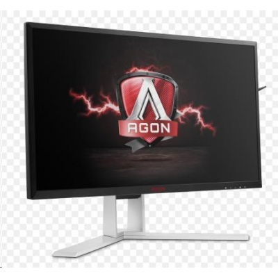 "AOC MT LCD WLED 23,8"" AG241QX - herni, 350cd, 1ms, 2560x1440, D-Sub, DVI, 2xHDMI, 4xUSB, DP, repro, pivot, ADAPTIVE SYNC"
