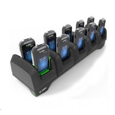 Zebra charging station, 10 slots, uzamykatelná, pro EC30