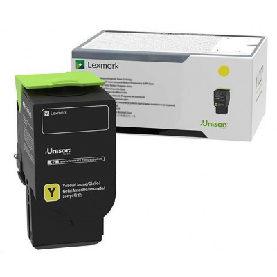 Lexmark žlutý High capacity toner C230H40 pro C2325dw a MC2325adw - 2 300 str