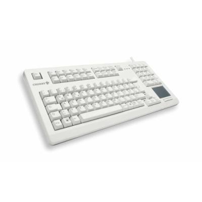 CHERRY klávesnice G80-11900, touchpad, USB, EU, bílá