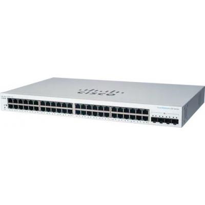 Cisco switch CBS220-48T-4X, 48xGbE RJ45, 4x10GbE SFP+