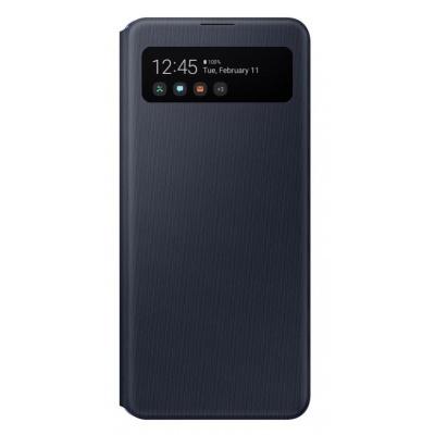 Samsung S-View pouzdro EF-EA415PBE pro Samsung Galaxy A41, černá