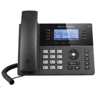 Grandstream GXP1760W [VoIP telefon - 3x SIP účet, HD audio, 24 prog.tl.+6 předvoleb, 1xLAN 100Mbps, WiFi, PoE]