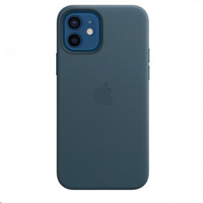 APPLE iPhone 12/12 Pro Leather Case with MagSafe - Baltic Blue