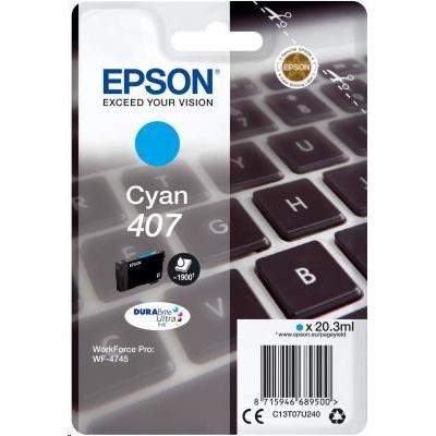 "EPSON Ink bar WF-4745 Series Ink Cartridge ""Klávesnice"" L Cyan 1900 str. (20,3 ml)"