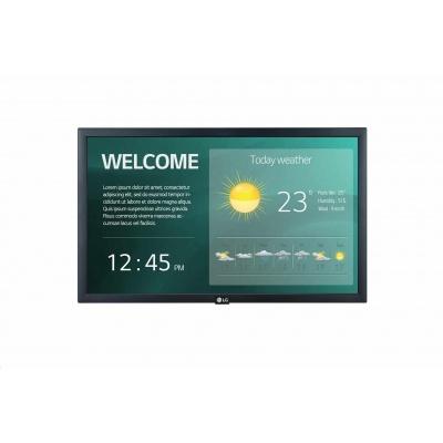 "LG 22"" signage 22SM3G FHD, 250nit, 16h, WebOS 4.0"