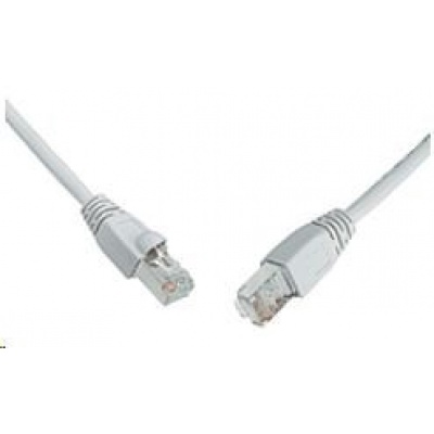 Solarix Patch kabel CAT6 SFTP PVC 3m šedý snag-proof C6-315GY-3MB