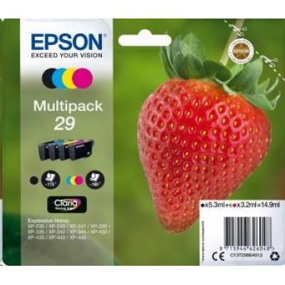 "EPSON Multipack 4-colours ""Jahoda"" 29 Claria Home Ink"