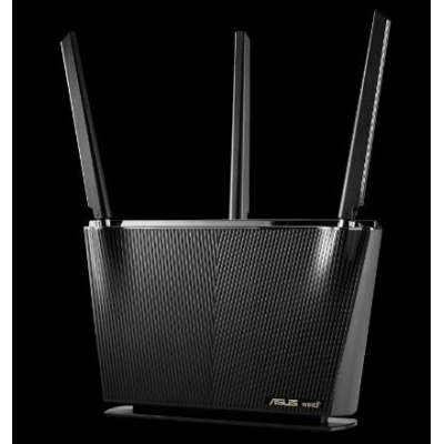 ASUS RT-AX68U Wireless AX2700 Wifi 6 Router, 4x gigabit RJ45, 1x USB3.0, 1x USB2.0