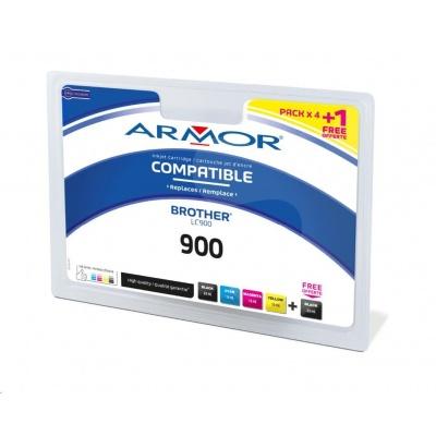 ARMOR cartridge pro BROTHER DCP-110C 2BK+1C+1M+1Y (LC900BK/C/M/Y)