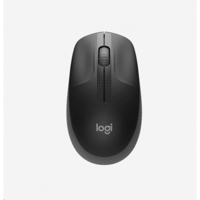 Logitech Wireless Mouse M190 Full-Size, black
