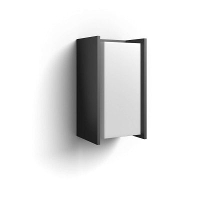 PHILIPS Turaco Venkovní nástěnné svítidlo, Hue White, 230V, 1x9.5W E27, Antracit
