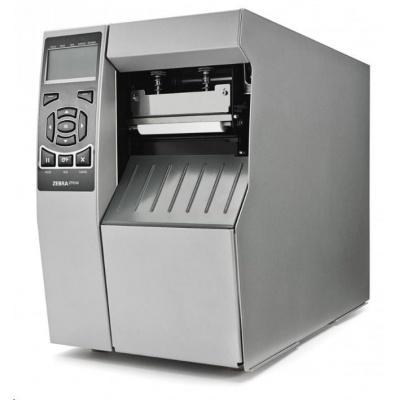Zebra ZT510, 8 dots/mm (203 dpi), odlepovač, rewind, disp., ZPL, ZPLII, USB, RS232, BT, Ethernet