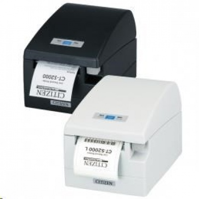 Citizen CT-S2000, USB, RS-232, 8 dots/mm (203 dpi), black