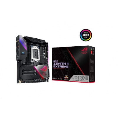 ASUS MB Sc sTRX4 ROG ZENITH II EXTREME, AMD TRX40, 8xDDR4, Wi-Fi