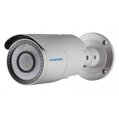 HYUNDAI analog kamera, 2Mpix, 25 sn/s, obj. 2,7-12mm (100°), HD-TVI, DC12V/PoC, IR 40m, IR-cut, IP66