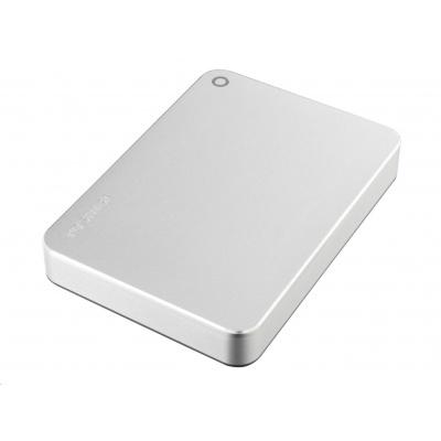 """TOSHIBA HDD CANVIO PREMIUM 4TB, 2,5"""", USB 3.2 Gen 1, metalická stříbrná / silver metallic"""