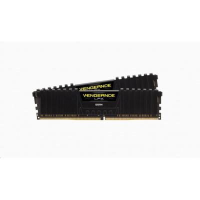 CORSAIR DDR4 16GB (Kit 2x8GB) Vengeance LPX DIMM 3000MHz CL16 černá