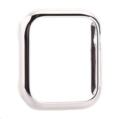 COTEetCI polykarbonátové pouzdro pro Apple Watch 44 mm stříbrné