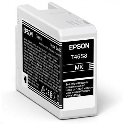 EPSON ink Singlepack Matte Black T46S8 UltraChrome Pro 10 ink 25ml
