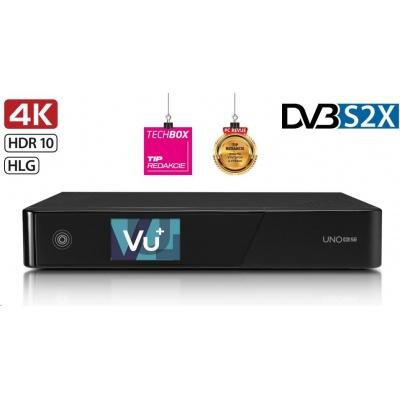VU+ UNO 4K SE (1x Duálny satelitný FBC tuner DVB-S2X)