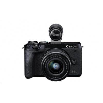 Canon EOS M6 Mark II + 15-45 + EVF