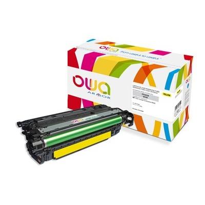OWA Armor toner pro HP Color Laserjet Ese M680, 16500 Stran, CF322A, žlutá/yellow