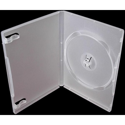 PP box 1DVD super clear  *(14mm)* 100-pack