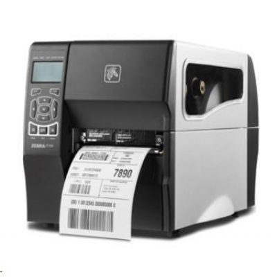 Zebra TT priemyselná tlačiareň ZT230, 300 DPI, RS232, USB, LINER TAKE UP W / PEEL