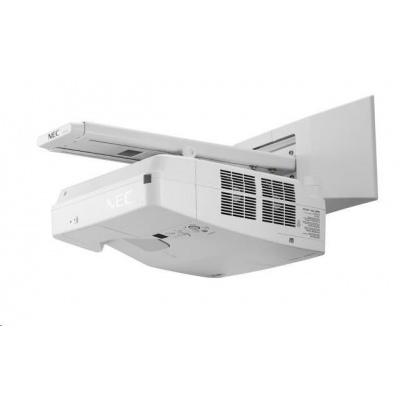 NEC Projektor LCD UM301W (1280x800,3000ANSI lm,3000:1,x 1.7 zoom)  10,000h lamp/filter,HDMI,LAN,USB,WXGA,Opt WLAN